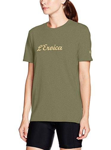 Santini Replica Eroica, Maglietta da Uomo, Uomo, T-Shirt, Verde, FR : XL (Taille Fabricant : XL)