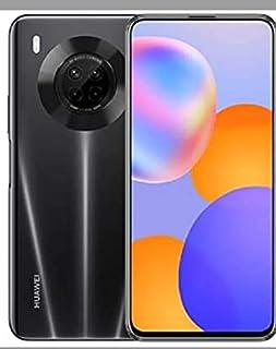 Huawei Y9a Mobile Phone, Dual SIM - 128 GB, 8 GB RAM, 4G LTE - Midnight Black with Power Bank, 10000 mAh - White