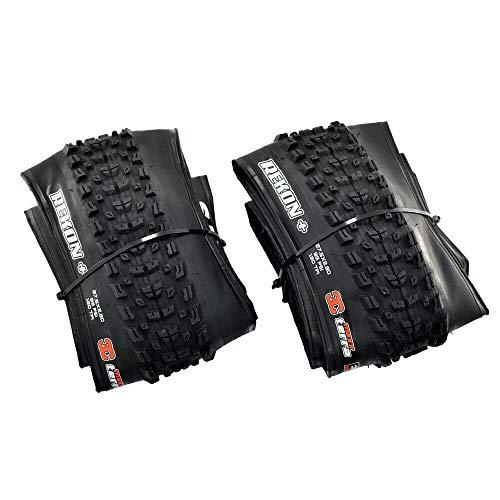 Maxxis REKON Plus M349 MTB Folding Tire TR Exo 3C MaxxTerra 27.5x2.80 Inches Tire, Black, 2 Tire, MX2003