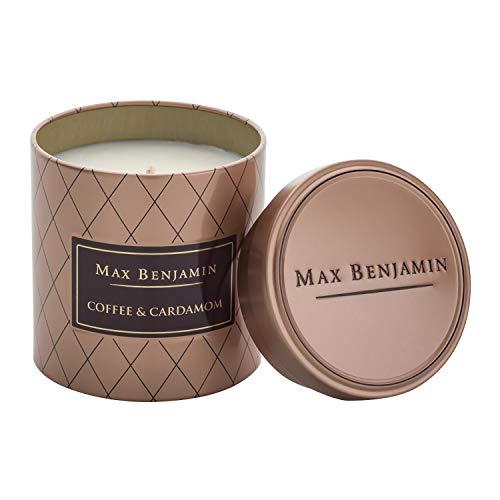 Max Benjamin Cardamom-koffie geurkaars in blikje