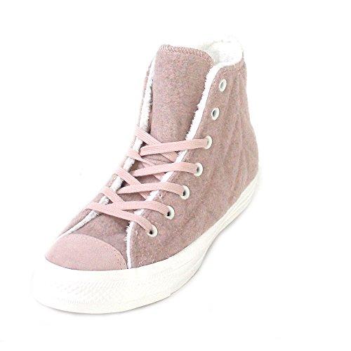Converse Chuck Taylor All Star High Sneaker, Rosa Beige, 41.5 EU
