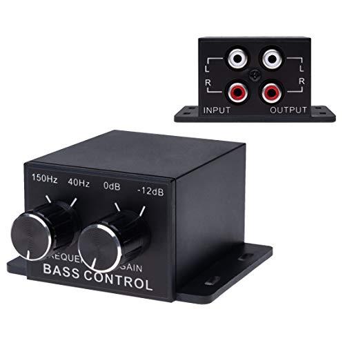 Universal Car Audio Amplifier Bass RCA Level Remote Volume Control Knob  ...