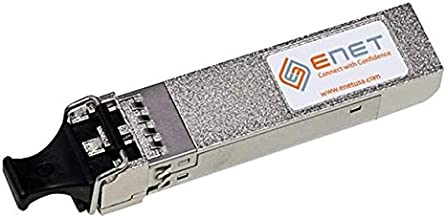 eNet Components - PANSFP-PLUSSRENC - Palo Alto Compatible PAN-SFP-PLUS-SR - Functionally Identical 10GBASE-SR SFP+ 850nm Duplex LC Connector with TruCode System Recognition - Programmed, Tested, and