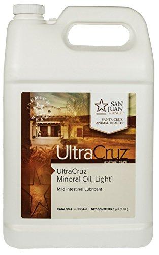 UltraCruz Mineral Oil Light Supplement for Horses, Livestock and Dogs, 1 Gallon (sc-395441)