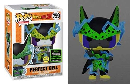 Funko POP! Dragon Ball Z #759 - Perfect Cell (BRILHA NO ESCURO) ECCC 2020 Exclusive