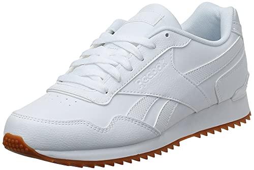 Reebok Royal Glide Ripple Clip, Zapatillas Clasicos Hombre, Blanco (White/Gum), 42.5 EU