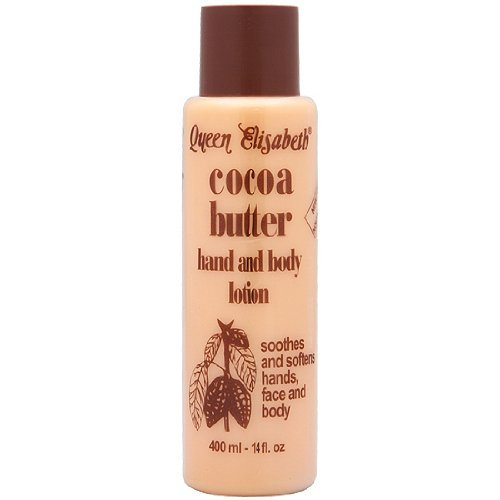 Queen Elizabeth Cocoa Butter Hand and Body Lotion 400ml