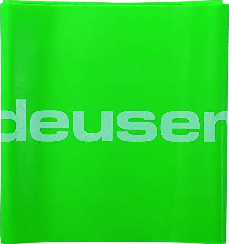 Deuser Unisex 150 2,4 M fysiotape, groen, 2 m lang 150 mm breed EU