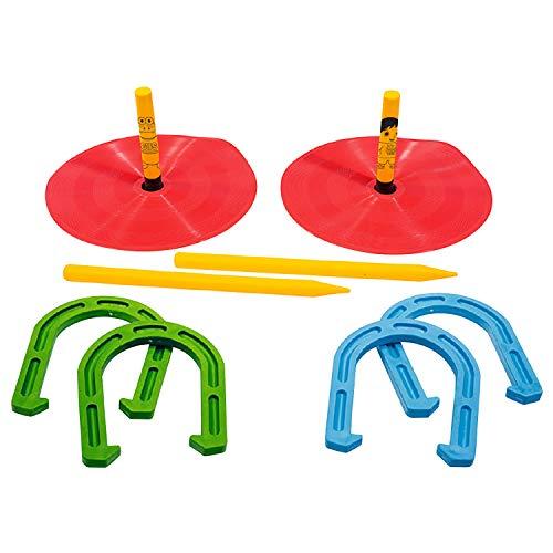 Franklin Sports Herradura – Material suave – ideal para niños – jugar herraduras en la playa, césped y más – Uso en interiores y exteriores