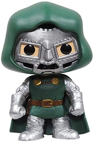 HJB POP Dr. Doom Fantastic Four Mini Q Version 3.9 Inch Collection Action PVC Figure EP PVC