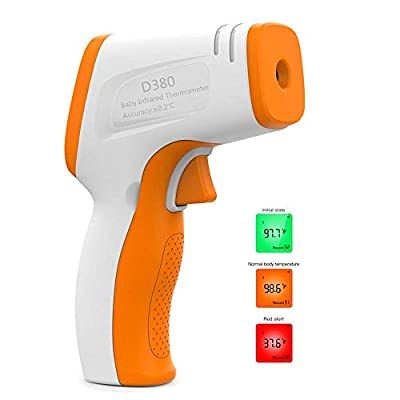 Infrared Forehead Thermometer for Adults, No Touch Digital Infrared Thermometer for Feve, Medical Thermometer for Babies, Children, Adults, Indoor and Outdoor Use