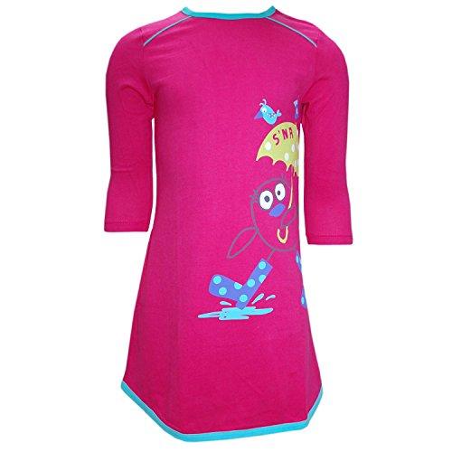 Sanetta - Langarm Mädchen Nachthemd, pink, Größe 92