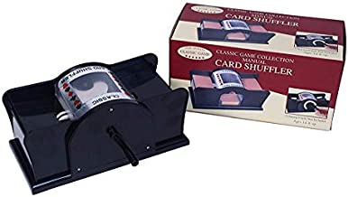 Manual Card Shuffler with Two Playing Card Decks