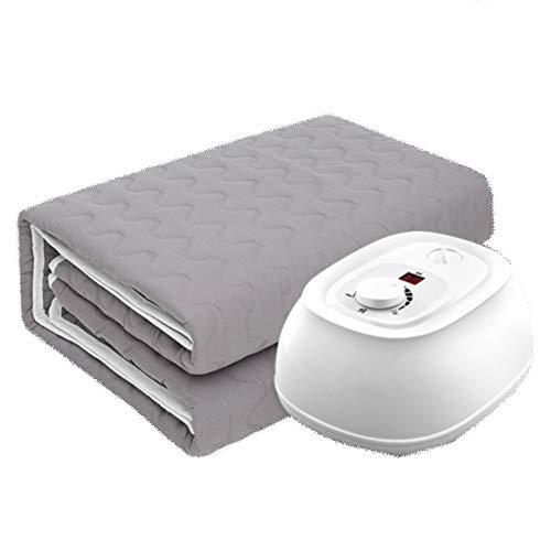 Mantas eléctricas Liang Climatizada Reina tamaño Combinado/calienta la Almohadilla del colchón/Calentamiento rápido/Mute función/Protección de radiación/Adecuado for su Uso en el hogar