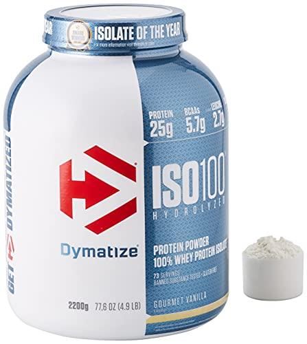 Dymatize ISO 100 Gourmet Vanilla 2,2kg -...