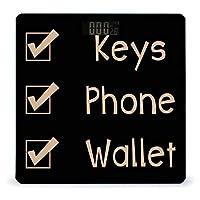 キー電話ウォレット LCDディスプレイ付き高精度スマートフィットネススケール体重デジタルバスルームボディスケール