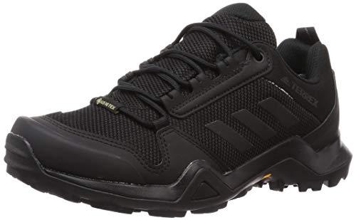 adidas Terrex AX3 GTX, Chaussures de randonnée Homme, Negbás/Negbás/Gricin, 41 1/3 EU