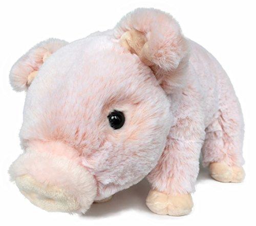 Lifelike Baby Pig Stuffed Animal Piggy - Piglet Plush Toy - 12 Inches Length (Original)