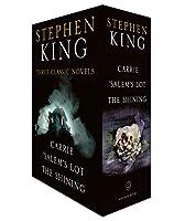 Stephen King Three Classic Novels Box Set: Carrie, 'Salem's Lot, The Shining (Carrie,Salems Lot,the Shining)