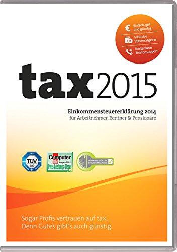 tax 2015 (für Steuerjahr 2014 / Frustfreie Verpackung)