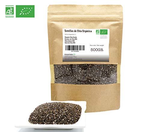 FRISAFRAN - Semillas de Chia Orgánica (500Gr)