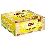 Bolsitas De T De Luli 't etiqueta amarilla' 100 Btl T negro)