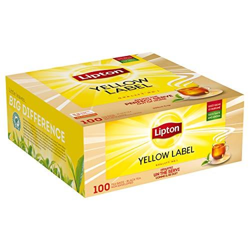 Lipton Feel Good Selection Thé Noir Yellow Label 100 Sachets