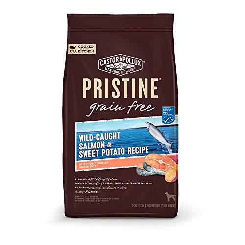 Castor & Pollux Pristine Grain Free Wild-Caught Salmon & Sweet Potato Recipe Dry Dog Food - 4.0 lb Bag