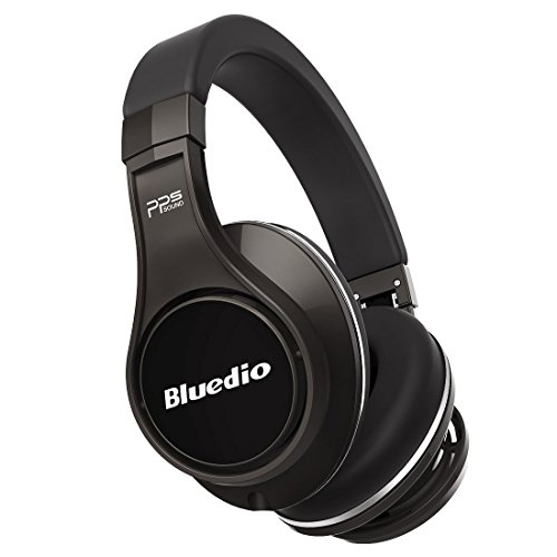 Bluedio U (UFO) Cuffie Bluetooth Auricolari Bluetooth Cuffie Wireless&Wired Over-Ear con Microfono (Titanium)