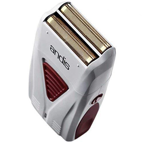 Andis Professionelle Salon-Barbers Pro Titan-Handrasierer – Grau/Rot