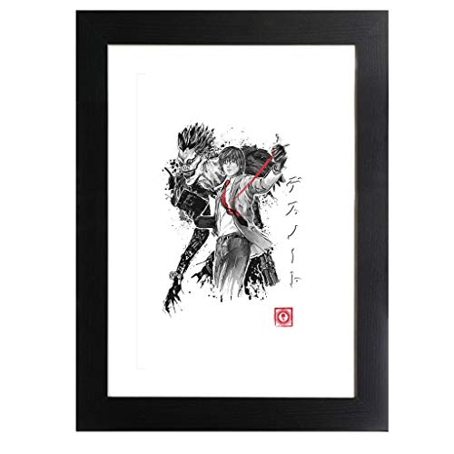 Cloud City 7 Death Note God of The New World Framed Print
