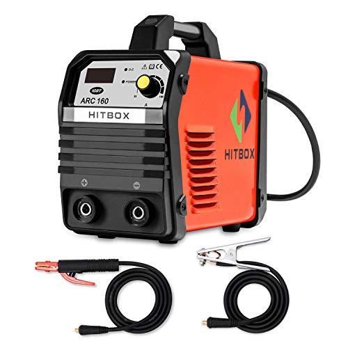 HITBOX ARC160 Stick MMA Welding Machine 220V Inverter Portable Rod Stick Arc Welder