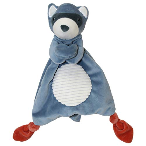 Mary Meyer Leika Lovey Soft Toy, 10-Inches, Little Raccoon