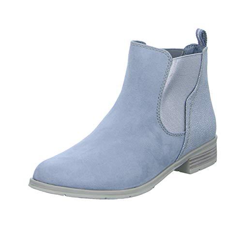 MARCO TOZZI Damen 2-2-25305-32 Chelsea Boots, Blau (Sky Comb 857), 40 EU