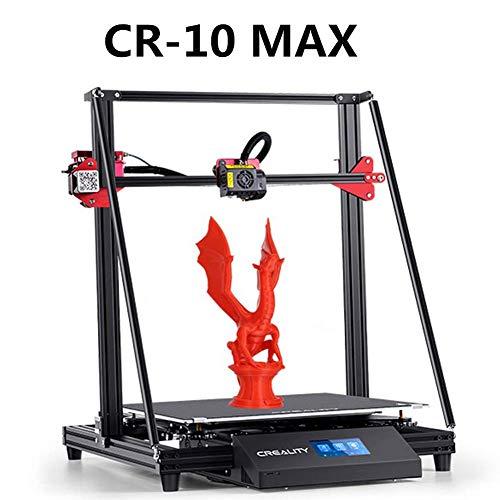 Laecabv Creality CR-10S5 CR-10 CR-10S4 CR-10S Ender-3 Pro Ender-5 CR-100 CR-X CR-10S Pro CR-10MAX CR-10V2 CP-01 3D imprimante 3D, noir