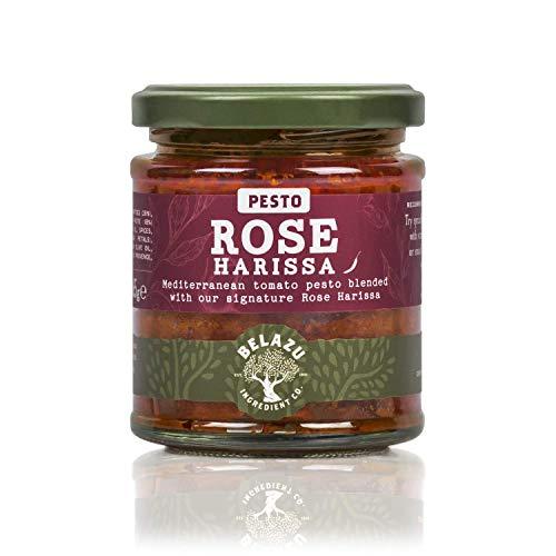 The Fresh Olive Company Rose Harissa Pesto, 165 g, (Paquete de 6)