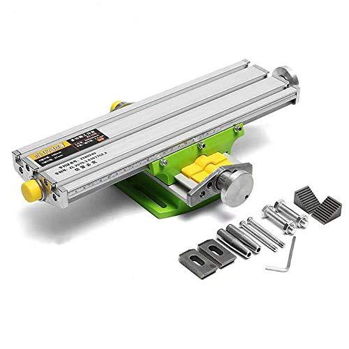 Mini Precision Milling Machine Worktable Multifunction Drill Vise Fixture Working Table (Medium (13
