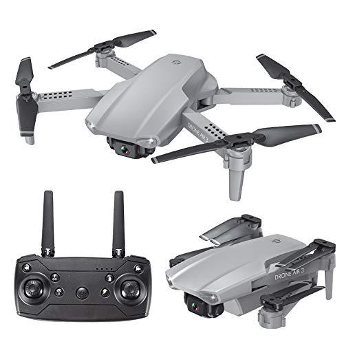 Bascar Drohne für Anfänger, 2020 Neue E99 4G Selfie Faltdrohne 4k WiFi FPV HD Kamera Selfie Quadcopter Altitude Hold Headless Modus Rückgabefunktion mit einem klick 360-Grad-Bildlauf