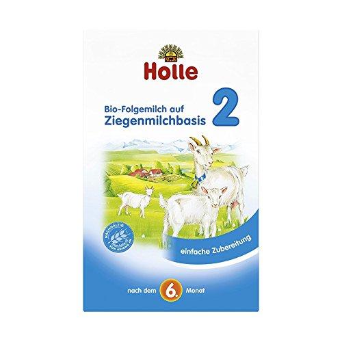 Holle Bio Lait 2de Suite sur Base de Lait de chèvre, de 4(4x 400g)