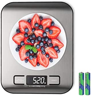 Digital Kitchen Scale Multifunction Food Scale Measure Weight MAX 11LB 5KG 176OZ Accurately product image