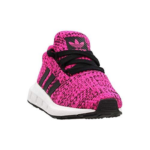 adidas Originals Kids Baby Girl's Swift Run INF (Toddler) Shock Pink/Black 8 Toddler