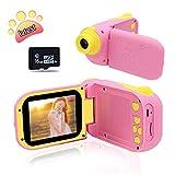 Pussan Kids Camera 8.0 MP Digital Cameras for Children 1080P HD Mini Digital