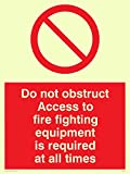 "Viking signos fv364-a5p-p""no obstruir el"
