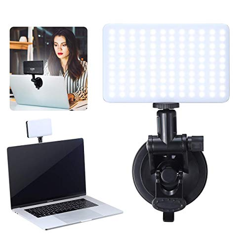 Video Conference Lighting Kit, VIJIM MacBook Video Light for Remote Working,Led Light for Laptop Video Conferencing, Zoom Calls, Self Broadcasting, Live Streaming