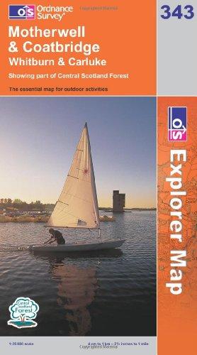 OS Explorer map 343 : Motherwell & Coatbridge
