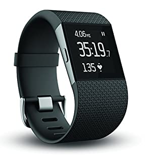 Fitbit Surge Fitness Superwatch, Black, Small (US Version) (B00N2BWHWS) | Amazon price tracker / tracking, Amazon price history charts, Amazon price watches, Amazon price drop alerts