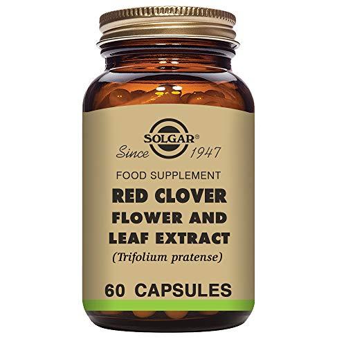 Solgar® Trébol Rojo Extracto de Flor y Hoja (Trifolium pratense) para la salud de la mujer - 60 Cápsulas vegetales