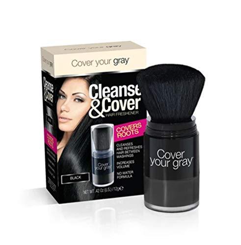 Cover Your Gray Nettoyer & Housse Cheveux Désodorisant (NOIR)
