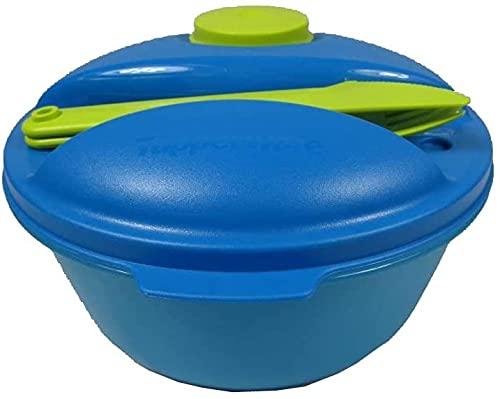 Tupperware® Salat & Go Schüssel + Besteck Picknick A157