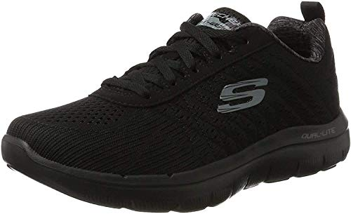 Skechers Flex Advantage 2.0, Men Outdoor Multisport Shoes, Black (Black), 41 EU (7 UK)